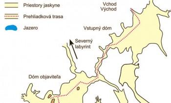 Höhlenkarte