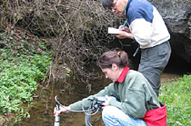Monitoring of selected physical-chemical parameters of water by multifunctional probe Horiba; Oravecká Spring - Ponický karst