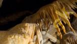 Skarbiec - Widok z bliska kalcytowych zasłon