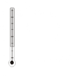 Temperatura w jaskini waha się od 10,2 do 11,4 °C.
