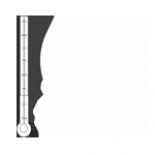 Temperatura w jaskini waha się od 7,1 do 7,8 °C.