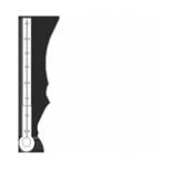 Temperatura w jaskini waha się od 9,0 do 9,4 °C.