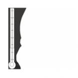Temperatura w jaskini waha się od 6,5 - 7,1 °C.