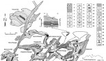 Geomorfologická mapa Ochtinskej aragonitovej jaskyne (P. Bella, 1998)