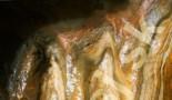 Malý baldachýn - Rez stalaktitom