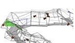 Náročnejšie znázornenie podzemných priestorov formou digitálneho trojrozmerného modelu